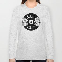 Cut X Cut Podcast Long Sleeve T-shirt