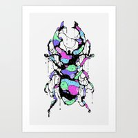 bug Art Prints featuring BUG by maivisto