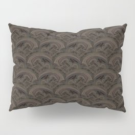 stormy seas abstract Celtic pattern Pillow Sham