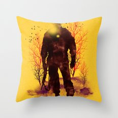 Back to My Homeland Throw Pillow