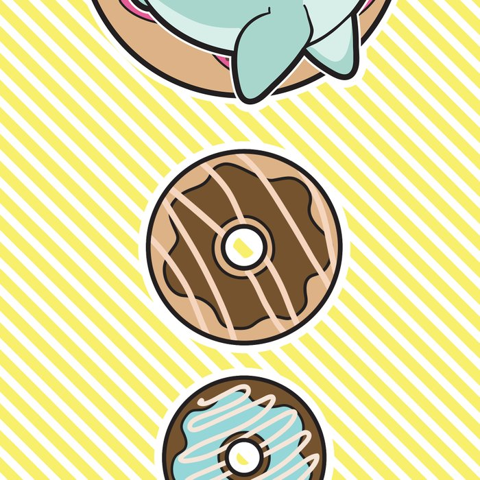 Nom Nom Donuts Leggings