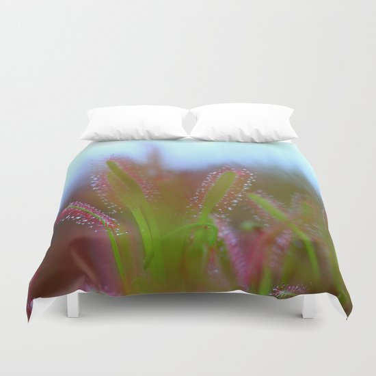 Fairy Like Sundew - JUSTART © Duvet Cover