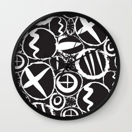 Modern Mud Cloth 6 Wall Clock