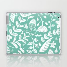 Forest Flora Green Laptop & iPad Skin