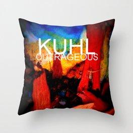 KUHL : OUTRAGEOUS Throw Pillow
