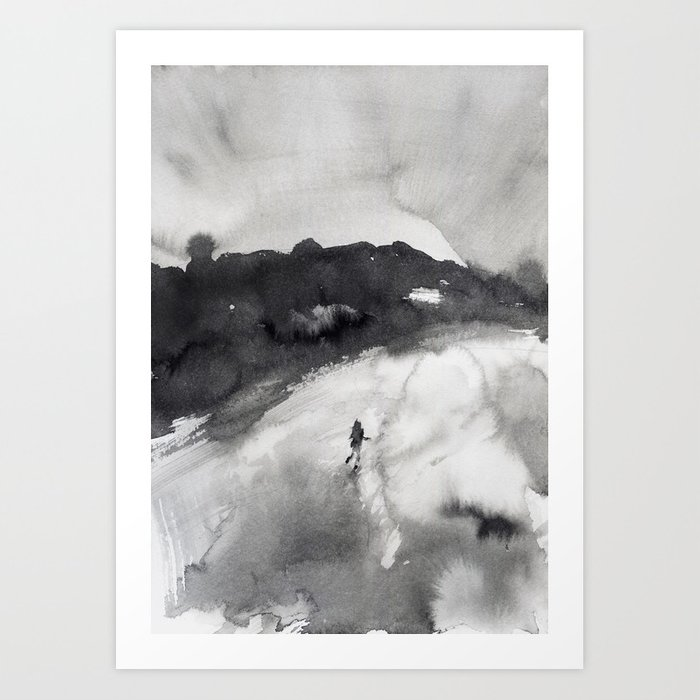 Discover the motif RUN AWAY by Agnes Cecile as a print at TOPPOSTER