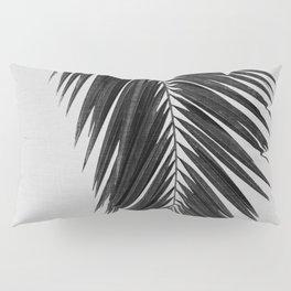 Palm Leaf Black & White I Pillow Sham