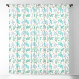 Lazy Manatees Blackout Curtain
