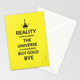 Buy Gold Stationery Cards