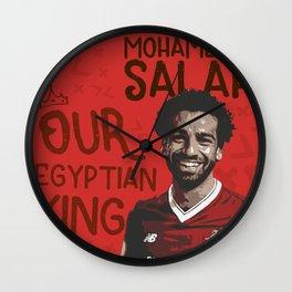 Mohamed Salah Wall Clock