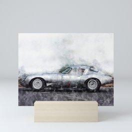 E-Type Lightweight Mini Art Print