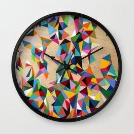 Geometric Goodness Wall Clock