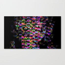 Glitch Girl Canvas Print