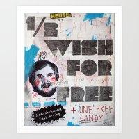 1/2 wish Art Print