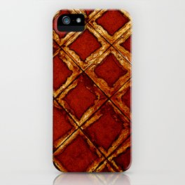 Ischia - Faux Royal iPhone Case