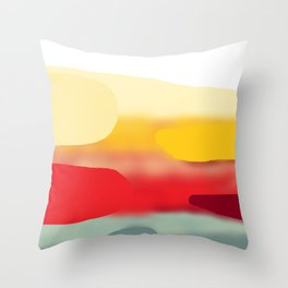 Far Throw Pillow
