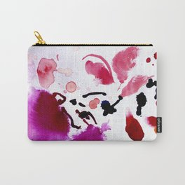 FUSCIA BLOOM Carry-All Pouch