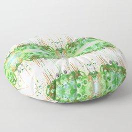 Colors Skull Floor Pillow