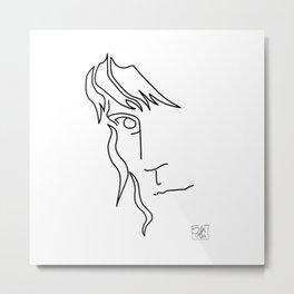 Patti Smith - Word art Metal Print