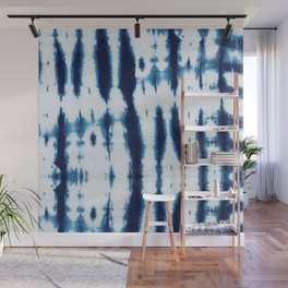 Linen Shibori Shirting Wall Mural