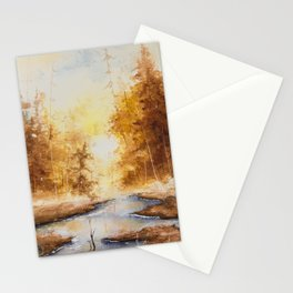 Autumn Watercolor Stationery Cards