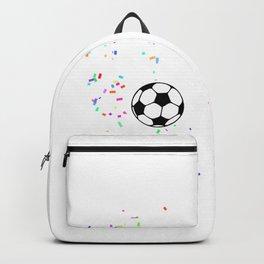 6 Jahre alt Fußball Profi Geburtstags Backpack