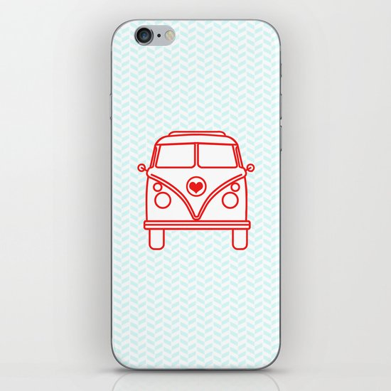 let's go wild and explore the world! iPhone & iPod Skin
