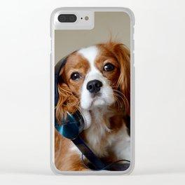Sound Hound Clear iPhone Case