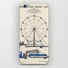 Ferris Wheel Patent iPhone & iPod Skin