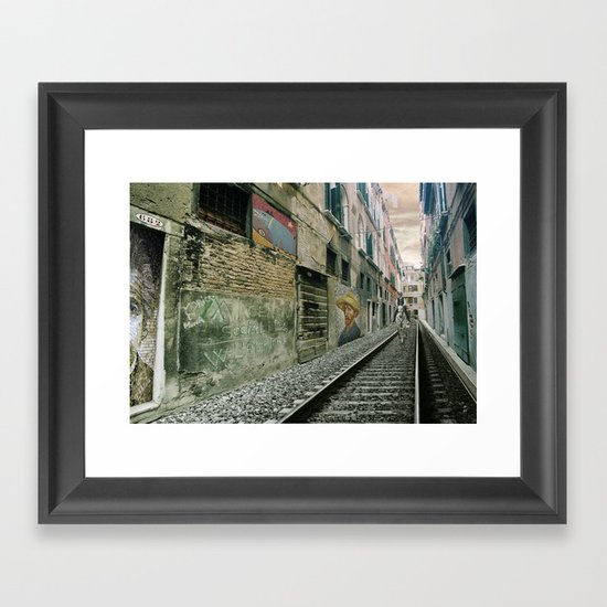 Surreal Venice Framed Art Print