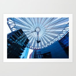 Webcob dome, Berlin, Germany Art Print