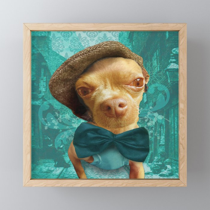 PHiNEAS TWiST (more please sir...) Framed Mini Art Print