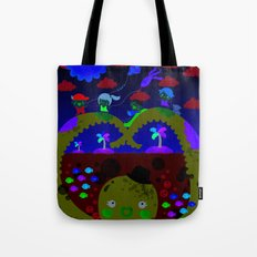 mr. octopus' bridge Tote Bag