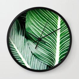 Palm-Tree Breeze Wall Clock