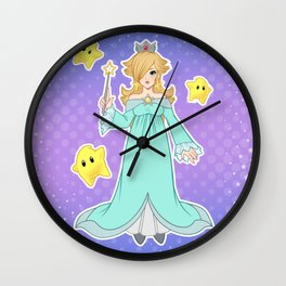 PRINCESS ROSALINA Wall Clock