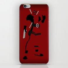 Merc with a mouth (Deadpool) iPhone & iPod Skin