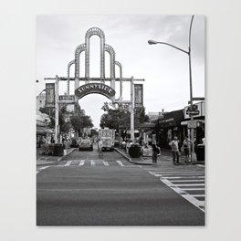 Sunnyside Arch Canvas Print