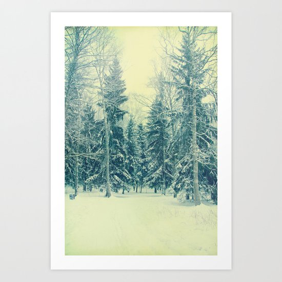 Once upon a December Art Print
