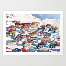Qaqortoq Art Print