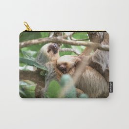 Yawning Baby Sloth - Cahuita Costa Rica Carry-All Pouch