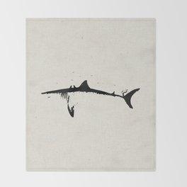 Apex Predator Throw Blanket