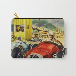1957 Grand Prix Motor Racing Nurburgring Germany Vintage Advertising Poster Carry-All Pouch