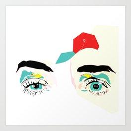 Orphan Meta Art Print