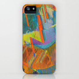 Pixels On The Beach - Mark Gould iPhone Case
