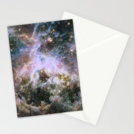 Cosmic Tarantula Nebula (infrared view) Stationery Cards