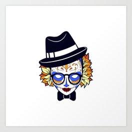 Mad Hatter Sugar Art Print