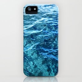 The Ocean's Surface iPhone Case