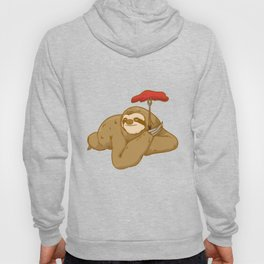 grill barbeque sloth Hoody