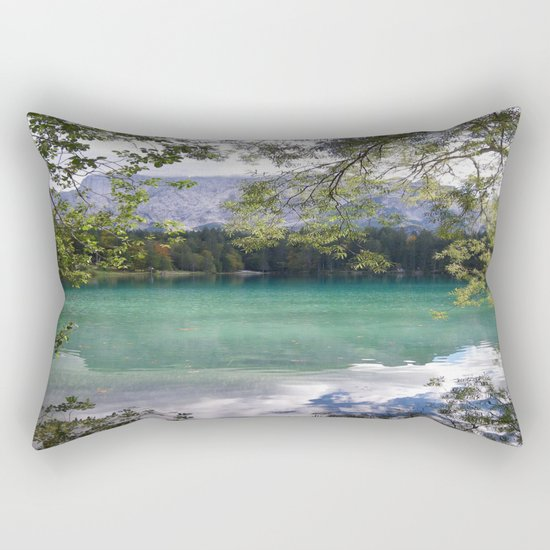 When Nature Sings Her Lullaby Rectangular Pillow
