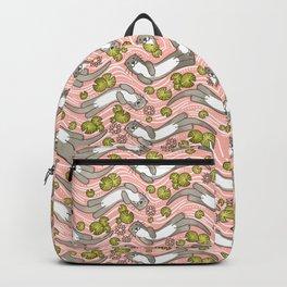 Swimming Otter Girls Backpack